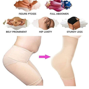 Ladies Fitness Belly Control Seamless Boyshorts  Women Breathable Lift-hip Bodysuit Fitness Slimming Body Shaping Briefs High Waist Shaping Pants