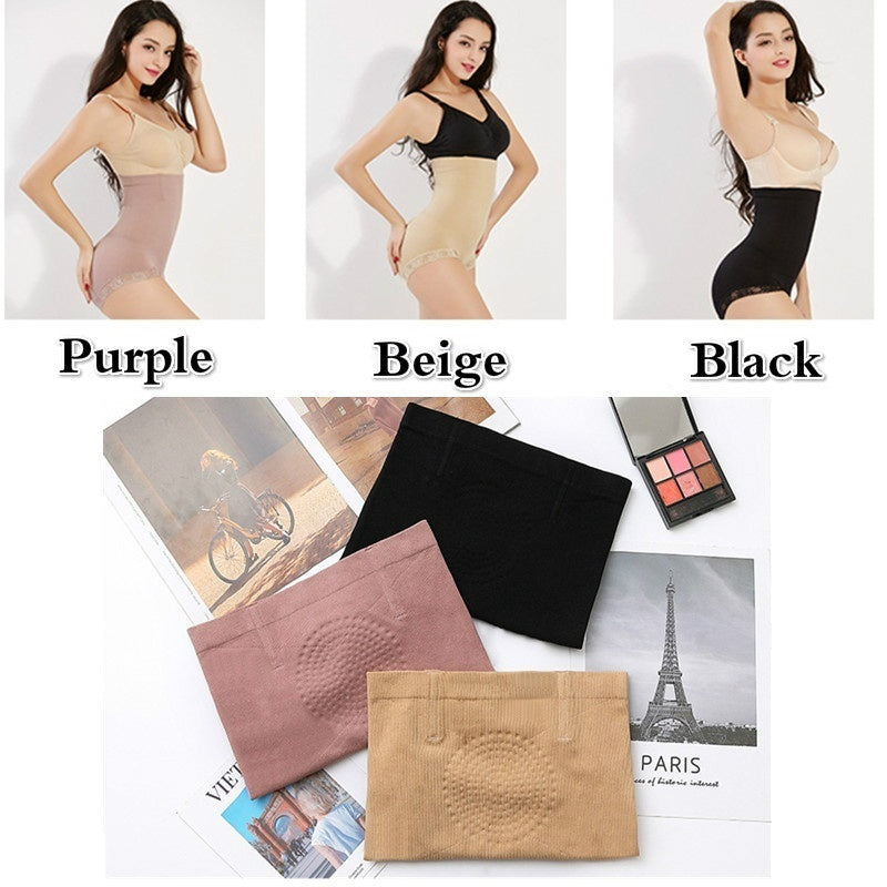 Newest Thin Waist Underwear Slim Pants Without Traces Breathable Lifting Hips High Waist Fitness Body Shaping Underwear (Color Black / Purple / Beige)