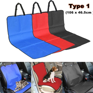 Pets Car Safety Seat Breathable Waterproof Puppy Cat Dog Travel Safe Carrier Pad Bag Basket