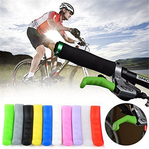 10color Bicycle Silicone Brake Handle Sleeve Anti-Skid Brake Lever Protection Cover Cycling Accessories Handle Bar
