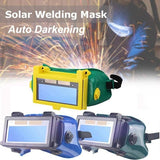 frozend? Solar Auto Darkening Welding Goggle with Polycarbonate Lens Welder Glasses Protective Gear