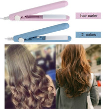 Load image into Gallery viewer, Portable Hairdressing 2 Colors Curling Tool  Electric Hair Styling Tool   Hair Curler EU Plug