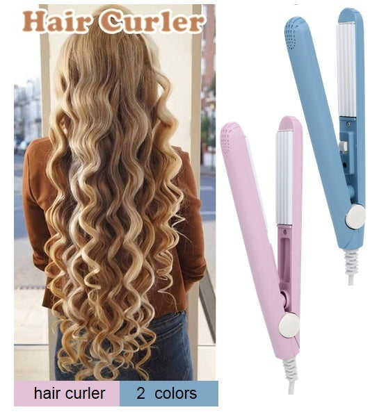 Portable Hairdressing 2 Colors Curling Tool  Electric Hair Styling Tool   Hair Curler EU Plug