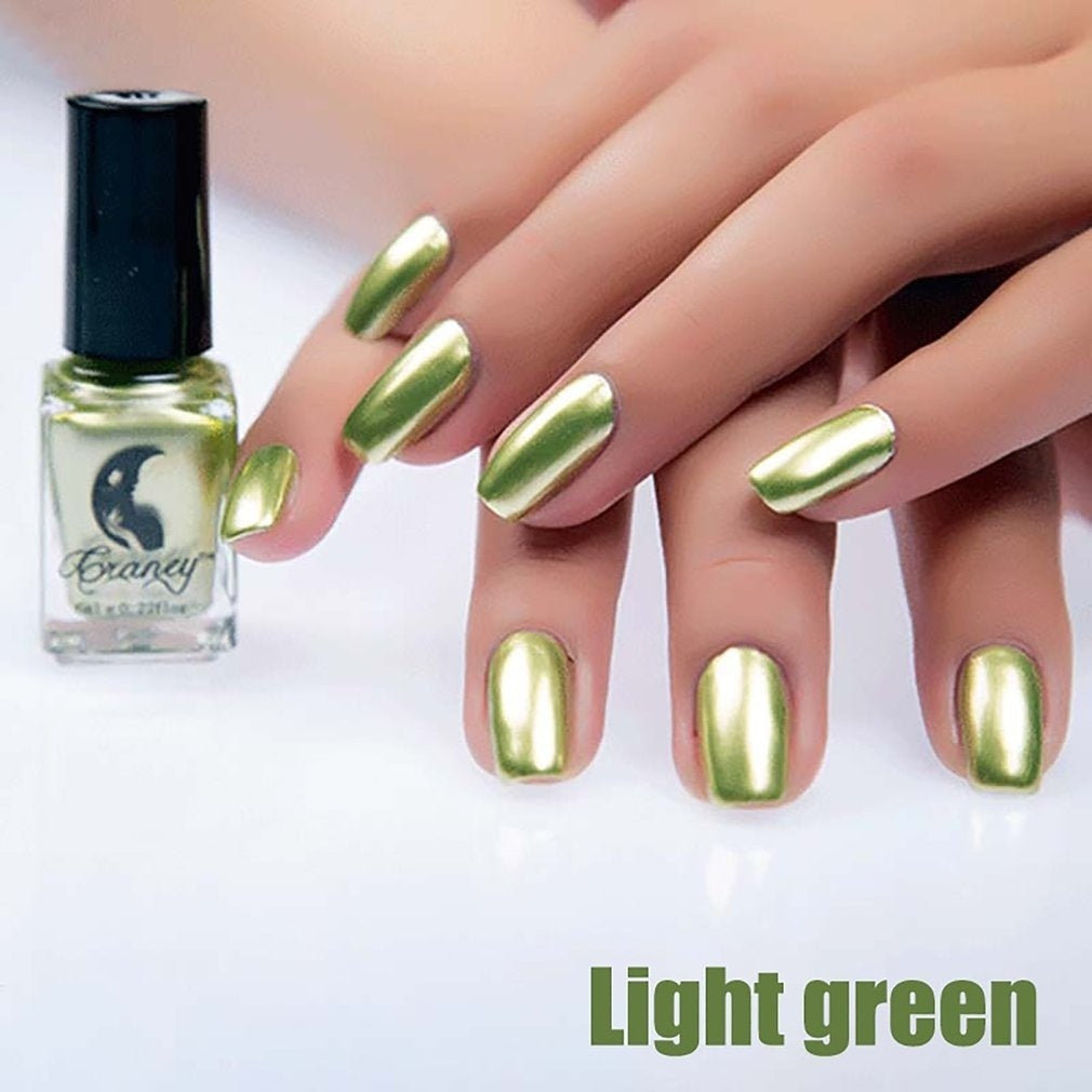 Metallics Nail Polish Mirror Nail Polish For Women Girl As Makeup Tool