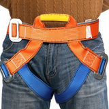 Outdoor Rock Tree Climbing Rappelling Safety Equipment Harness Seat Belts