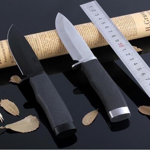 High Quality Tactical Outdoor Sabre Army Hunting Straight Knives Survival EDC Tools Knives Combat Camping Self-defense Knife