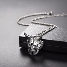 Load image into Gallery viewer, Gothic Devil Necklace Demon Stainless Steel Pendant & Chain Three Color Christmas Gift Jewelry Necklaces Accessories