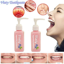 Load image into Gallery viewer, NEW Viaty Toothpaste Stain Removal Whitening Toothpaste Fight Bleeding Gums Fresh