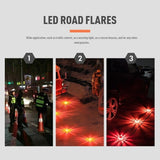 1PC  LED Emergency Magnet Flashing Warning Night Lights Security Road Flare Emergency Lights with Magnetic Base for Car Truck Boat  Magnet Flashing Warning Night Lamp