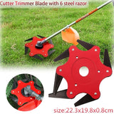 6 Tooth Brush Cutter Brushcutter Electric Garden Trimmer Strimmer Mower Blade