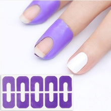 Load image into Gallery viewer, 40 Pcs Anti-overflow Nail Sticker Nail Polish Spilling U-shaped Finger Cover Sticker