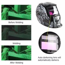 Load image into Gallery viewer, [ 6Types ] UV/IR Pro Solar Auto Darkening Welding Helmet Grinding Welders Protective Mask Labor Construction Working Protective Helmets