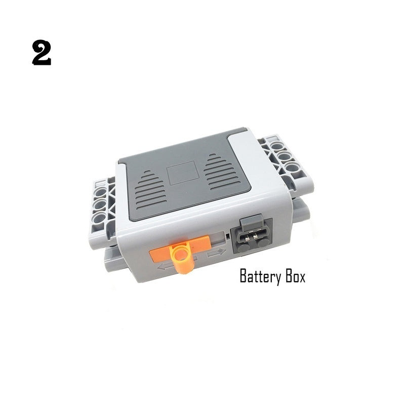 Technical Power Functions Servo Motor Polarity Switch IR Speed Remote Control Receiver Battery Box Accessory Compatible Legoed