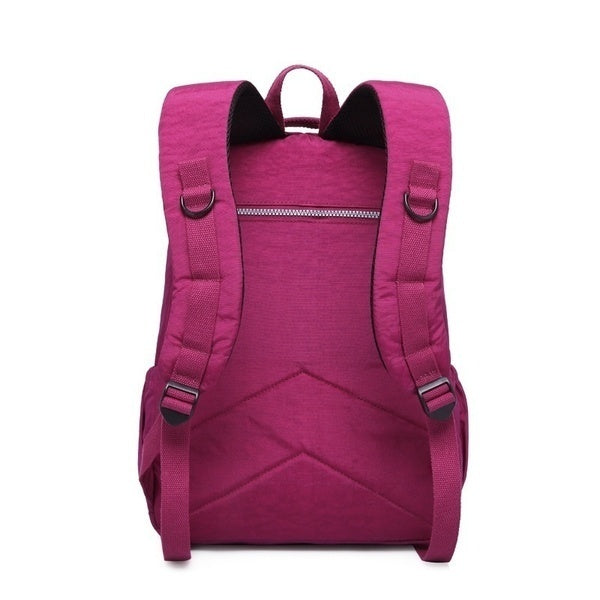 Fashion Classic Backpack School Bag for Teenage Girls Nylon Backpacks Casual Travel Laptop Bag for Men and Women