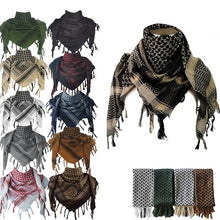 Load image into Gallery viewer, 100% Cotton Military Shemagh Tactical Desert Scarf Head Wrap