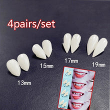 Load image into Gallery viewer, 4pairs Vampire Denture