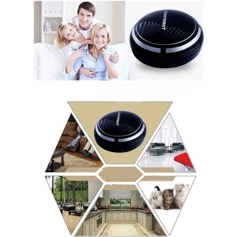 2019 Rechargeable Robot Vacuum Cleaner Automatic Cleaning Robot Smart Robot Vacuum Floor Cleaner  USB Plug