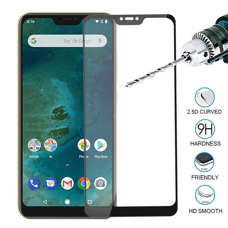 9H Tempered Glass Screen Protector For Xiaomi Mi A3 CC9E CC9 9T Pro 9 9S 5G 8 Lite SE Mix 4 3S 5G Redmi Note 8 7 K20 Pro 8A 7A Go Pocophone F1 Black Shark Helo  Protective Flim Guard