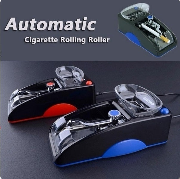 Household electric cigarette machine automatic cigarette machine small automatic cigarette machine electric cigarette injector blue and red color