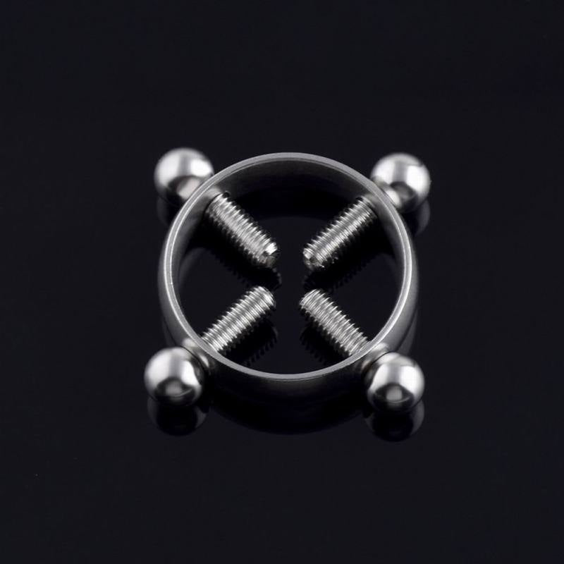 1Pc/2Pcs Stainless Steel 6 Colors Unique Personality Nipple Ring Nipple Accessories Milk Ring Beauty Puncture Accessories Taste