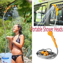 Load image into Gallery viewer, Portable 12V Electric Car Auto Camping Hiking Travel Outdoor Shower Kit Hook