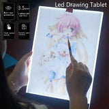 Drawing Tablet Thin Art Stencil Drawing Board Light Box Tracing Table Pad