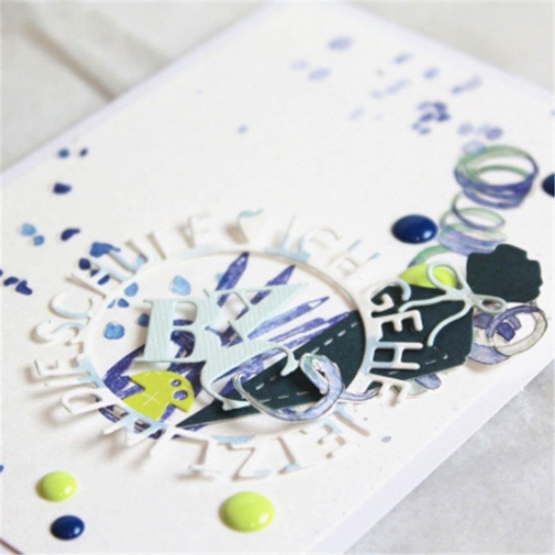 Small Square Letters Metal Cutting Dies for DIY Scrapbooking Album Paper Cards Making Decorative Crafts Supplies 2019 New Diecut