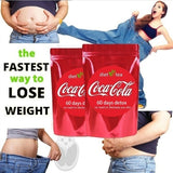 Detox Tea Coca-Cola Slimming Tea 100% Natural Body Cleanser, Unisex - 10/20/40/60 Tea Bag, Gentle Diet Detox Tea, Suppress Appetite, Reduce Bloating and Constipation