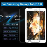 Tempered Glass Screen Protector for iPad Tablet Samsung Tablet Samsung Galaxy Tab A 7.0 8.0 9.7 10.1 6 2016 T280 T350 T355 T550 T580 T585 T560 T810 P580 P585 Screen Protector  0.33mm 2.5D
