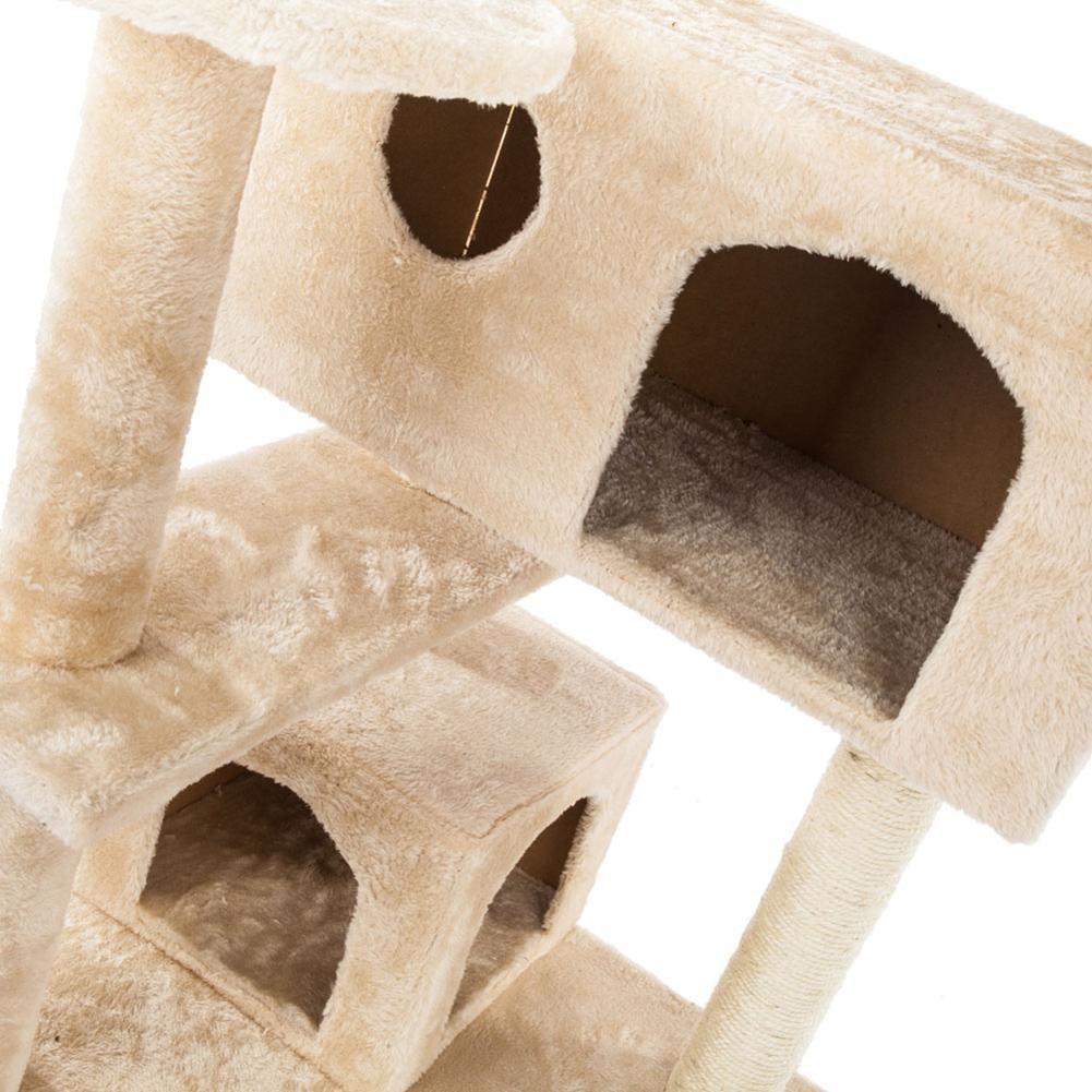 Cat Kitten Scratching Post Cat Climb Trees Cat Toy Pet Jumping Frame Tower Cat Toy Pet Houses