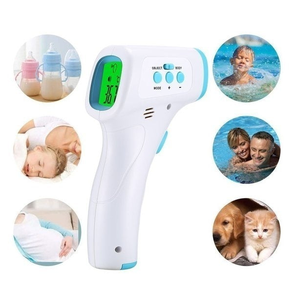 Non Contact Forehead Temperature Infrared Thermometer  Accurate Reading IR Infrared Thermometer High Precision Forehead Temperature Measurement LCD Digital (3 Types Optional)