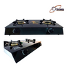 Glass Top Double Burner Gas Cooker