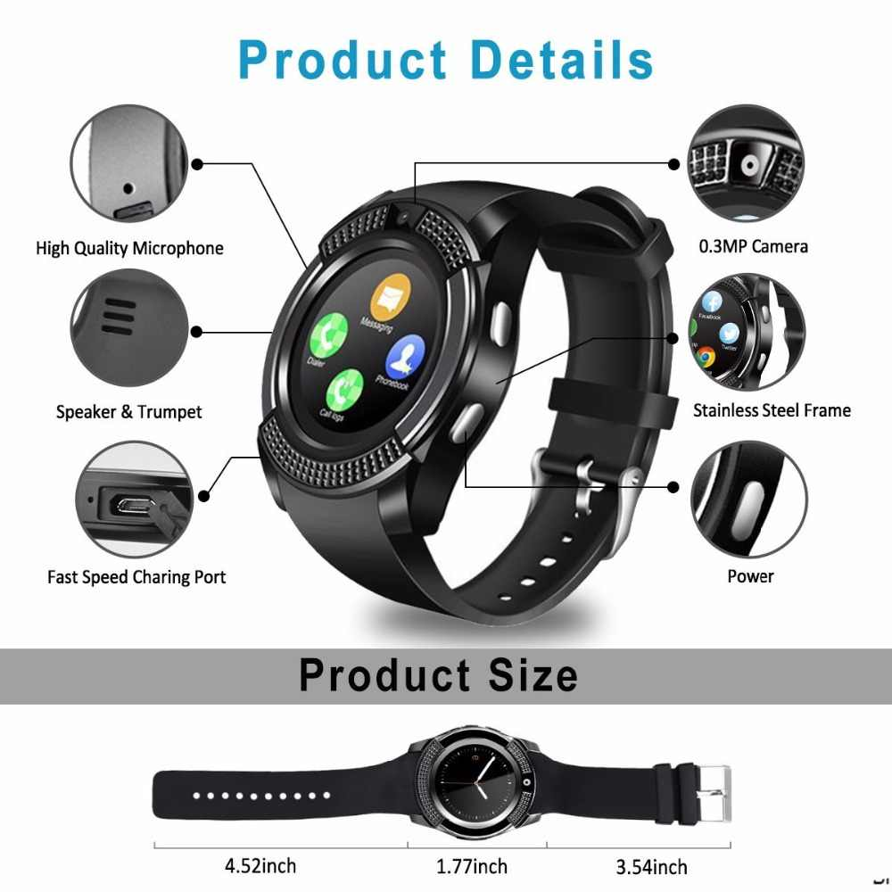 V8 Smart Watch with Camera and Calling