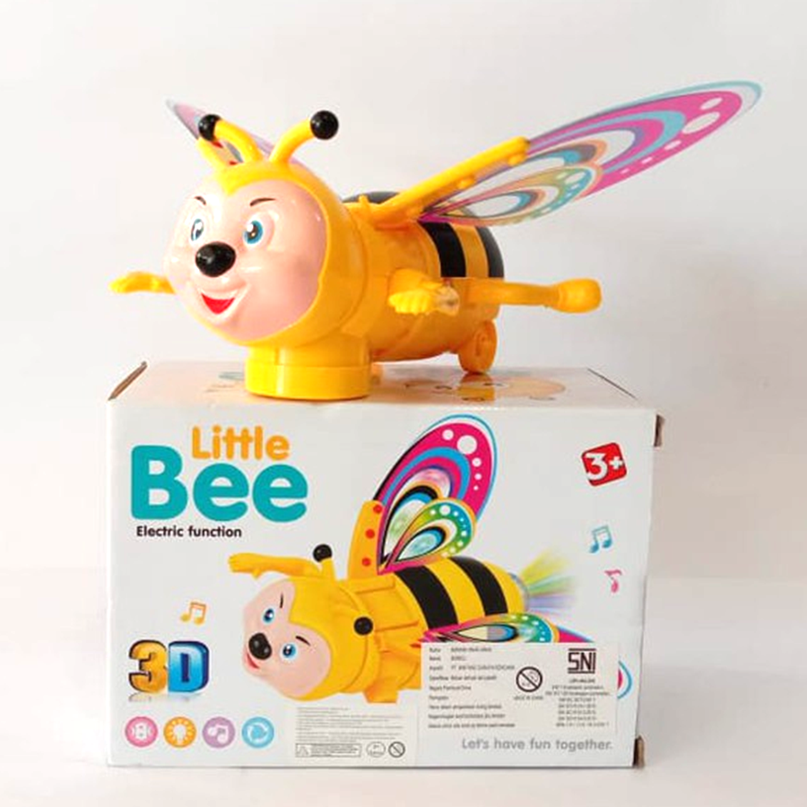 Musical Little Bee with 3D Lights