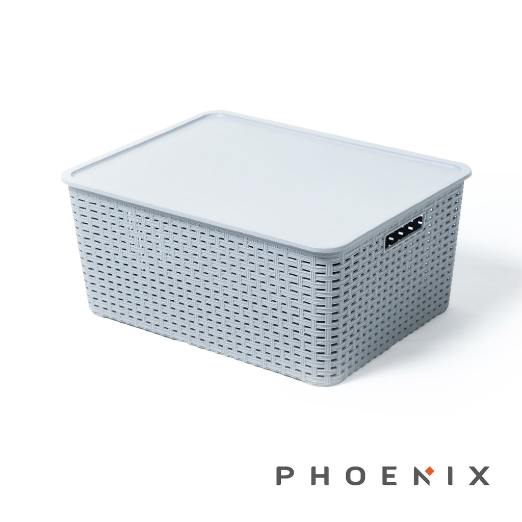 Phoenix Decorative Rattan  Box - 25LT