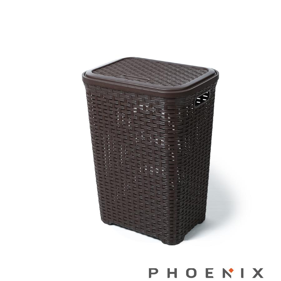 Phoenix Large Rattan Laundry Basket