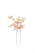Load image into Gallery viewer, Iris Hair Pin - Rose Gold