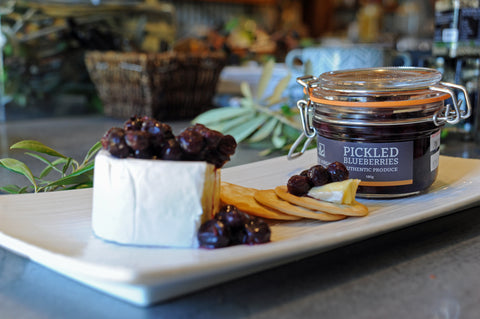 Vasse Virgin Pickled Blueberries Gourmet Cheese Board