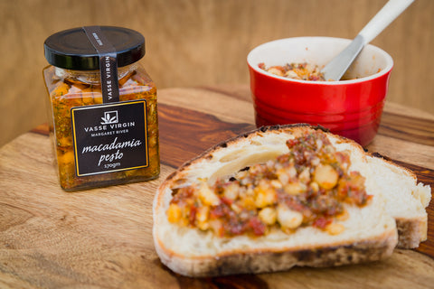 Vasse Virgin Margaret River Gourmet Macadamia Pesto