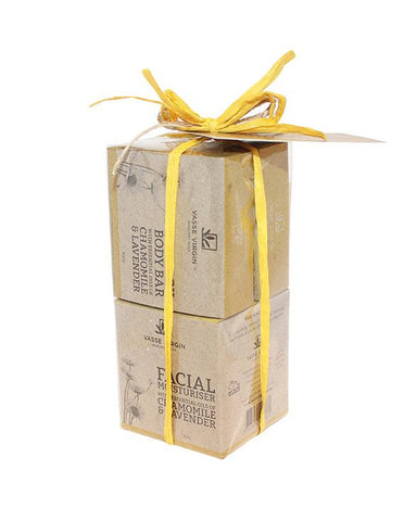 Chamomile Lavender Face and Body Gift Pack