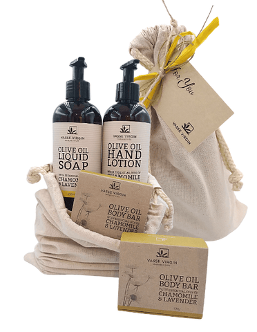 Chamomile & Lavender Hand Care Gift Pack