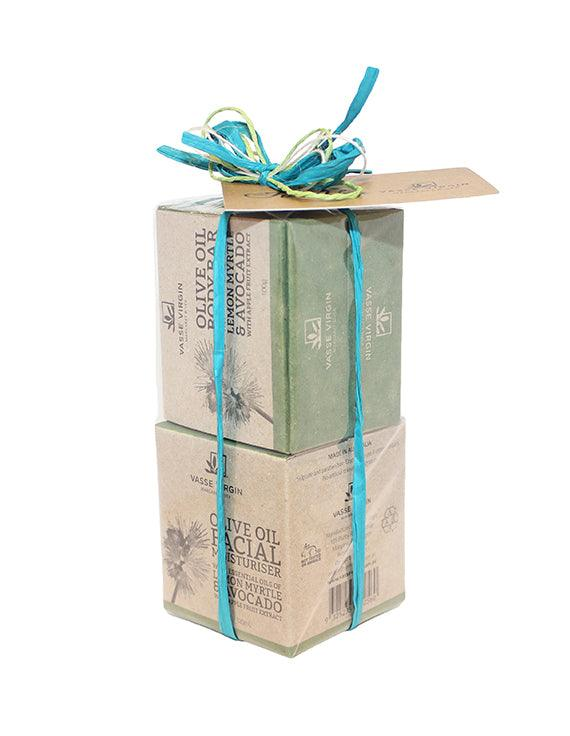Lemon Myrtle & Avocado Face and Body Gift Pack
