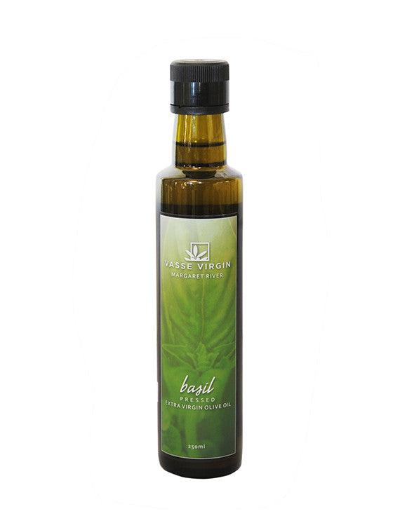 Basil Pressed Extra Virgin Olive Oil 250ml
