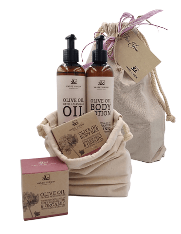 Rose Geranium & Pomegranate Ultimate Gift Pack