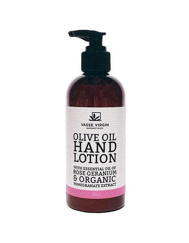 Rose Geranium Pomegranate Hand Lotion
