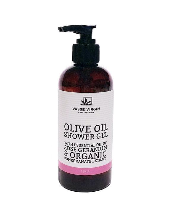 Rose Geranium & Pomegranate Shower Gel 250ml