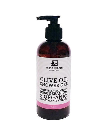 Rose Geranium Pomegranate Shower Gel