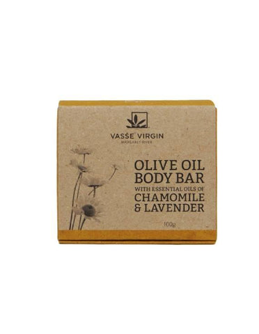 Chamomile & Lavender Boxed Body Bar 100g