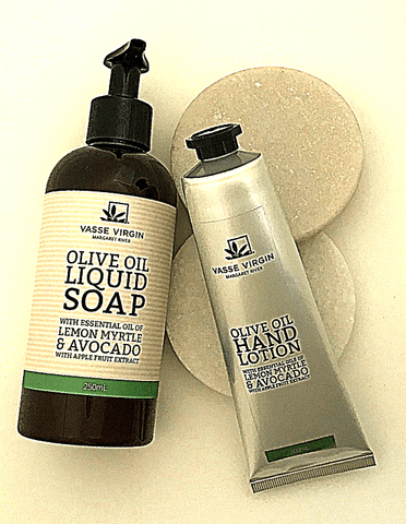 Lemon Myrtle & Avocado Liquid Soap & 100ml Hand Lotion Pack
