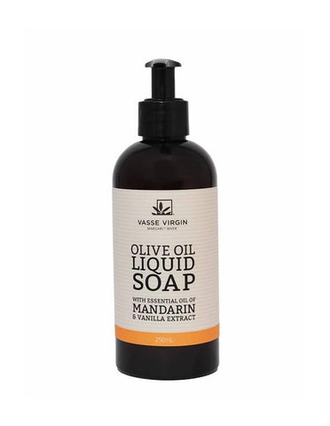 Mandarin & Vanilla Liquid Soap 250ml